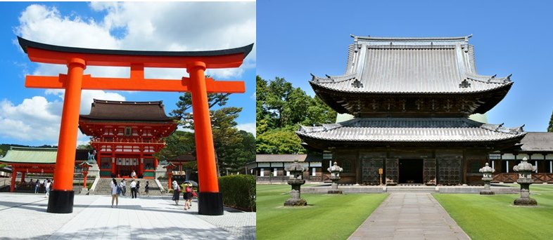 神社とお寺のちがいは?初詣はどっち?