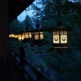 奈良【談山神社】夏のライトアップ!けんとうさい日程と時間の詳細